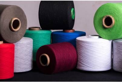 Regenerated Color Yarn in Melange, Lurex and Wool Blend